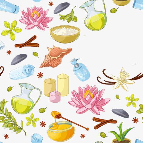 Produits cosmétiques et plantes médicinales