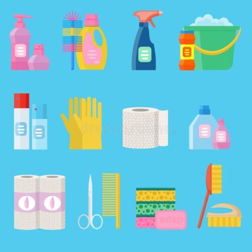 Produits d'entretien et d'hygiène